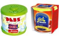 Debonair Debonair Jasmine, Areon Gel Apple (80ml) Car Freshener(180 G) Image