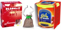 Debonair Debonair Jasmine, Areon Gel Apple (80ml) Car Freshener(100 G) Image