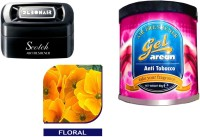 Debonair Debonair Floral, Areon Gel Anti Tobacco (80ml) Car Freshener Gel(115 g)