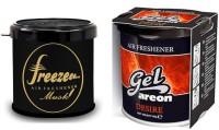 Debonair Debonair Musk, Areon Gel Desire (80ml) Car Freshener Gel(180 G) Image