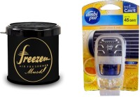 Debonair Debonair Musk, Ambi Pur Sweet Citrus (7.5ml) Car Freshener Gel(107.5 g)
