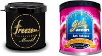 Debonair Debonair Musk, Areon Gel Anti Tobacco (80ml) Car Perfume Gel(180 G) Image
