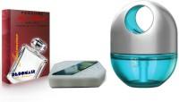 Debonair Debonair Jasmine, Godrej Twist Cool Blue (45ml) Car Freshener Gel(165 G) Image