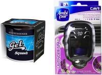 Debonair Debonair Squash, Ambi Pur Lavender (7.5ml) Car Freshener(107.5 G) Image