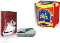 Debonair Debonair Jasmine, Areon Gel Apple (80ml) Car Freshener(200 G) Image