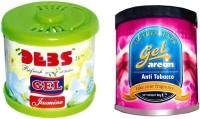 Debonair Debonair Jasmine, Areon Gel Anti Tobacco (80ml) Car Freshener Gel(180 G) Image