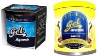 Debonair Debonair Squash, Areon Gel Vanilla (80ml) Car Freshener(180 G) Image