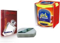 Debonair Debonair Lavender, Areon Gel Apple (80ml) Car Freshener Gel(200 G) Image