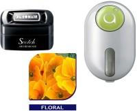 Debonair Debonair Floral, Godrej Click Green (9ml) Car Freshener Gel(44 G) Image