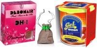 Debonair Debonair Diamond, Areon Gel Apple (80ml) Car Perfume Gel(100 g)