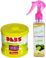 Debonair Debonair Lemon, Ranee Perfumer Lime (200ml) Car Freshener Gel(300 G) Image