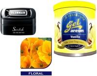 Debonair Debonair Floral, Areon Gel Vanilla (80ml) Car Perfume Gel(115 g)