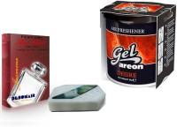 Debonair Debonair Jasmine, Areon Gel Desire (80ml) Car Freshener(200 G) Image