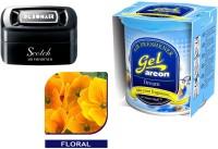 Debonair Debonair Floral, Areon Gel Dream (80ml) Car Freshener Gel(115 g)