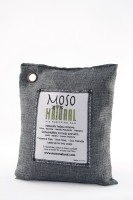 View Moso Natural Air Purifying Bag 500g Charcoal Color Naturally Removes Odors, Allergens and Harmful Pollutants. Portable Room Air Purifier(Black) Home Appliances Price Online(Moso Natural)