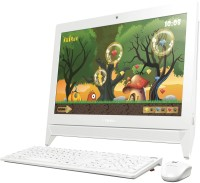 Lenovo - (Celeron Dual Core/2 GB DDR3/500 GB/Windows 10 Home/512 MB)(White, 34.2 cm x 48.6 cm x 4.8