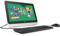 HP - (Pentium Quad Core/2 GB DDR3/500 GB/Windows 8.1/512 MB)(Black, 19.45 Inch Screen)