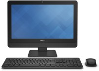 Dell - (Core i3/4 GB DDR3/500 GB/Ubuntu/512 MB)(Black, 19.5 Inch Screen)