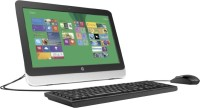 HP - (Pentium Quad Core/2 GB DDR3/500 GB/Windows 8.1)(Black, Silver, 19.45 Inch Screen)