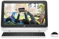 HP - (Core i3 (4th Gen)/4 GB DDR3/1 TB/Windows 10 Home/512 MB)(Black, White, 34.3 cm x 7.65 cm x 49.