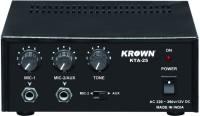 KROWN KTA-25 Professional Low Series PA System 20 W AV Power Amplifier(Black)