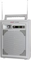 5 CORE Portable Amplifier 323KUB 100 W AV Power Receiver(White)