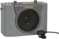 5 CORE Pa 231dlx Portable Amplifier Rechargeable With Head Mic 15 W AV Power Amplifier(Silver)