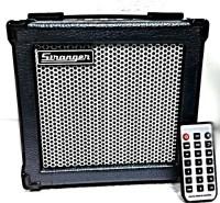 stranger C6 Guitar/Keyboard/MIC/MP3 Mini Combo 6 W AV Power Amplifier(Black)