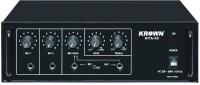 KROWN KTA-45 Professional Medium Series PA System 40 W AV Power Amplifier(Black)