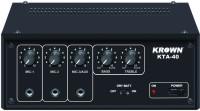 KROWN KTA-40 Professional Low Series PA System 35 W AV Power Amplifier(Black)