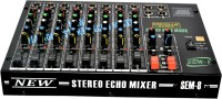 Medha Professional 8 Channel Stero Echo Mixer With Top Quality 220 W AV Control Receiver(Black)