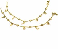 Jewelshingar 14868-payal Brass Anklet(Pack of 2)