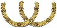 Jewelshingar 9740-payal Brass Anklet(Pack of 2)