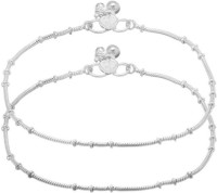 Charms Piraj Alloy Anklet(Pack of 2)