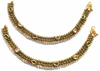 Jewelshingar 9729-payal Brass Anklet(Pack of 2)