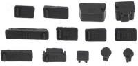 View Futaba USB Black Anti-dust Plug(Laptop Pack of 13) Laptop Accessories Price Online(Futaba)