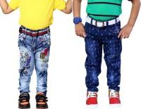 AJ Dezines Boys Casual Jeans Jeans(Multicolor)