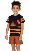 Ventra Boys Casual Pyjama(Brown)