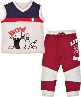 Gkidz Boys Casual T-shirt(Maroon)