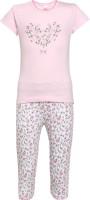 FS MINI KLUB Kids Nightwear Girls Cotton(Pink)