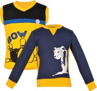 Gkidz Boys Casual T-shirt(Multicolor)