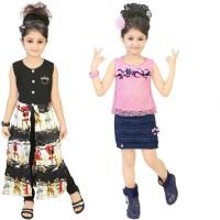 Kool Kids Girls Casual Top(Black)