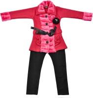 Addyvero Girls Party(Festive) Jacket Jegging(Red)