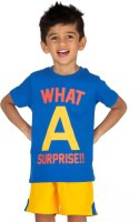Ventra Boys Casual T-shirt(Blue)
