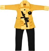 Addyvero Girls Party(Festive) Jacket Jegging(Yellow)