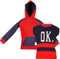 Gkidz Boys Casual T-shirt(Red)