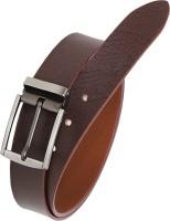 HORNBULL Men Formal, Casual Brown Genuine Leather Belt