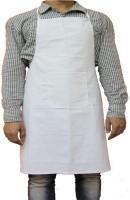 Legasea Cotton Chef's Apron - Free Size(White, Single Piece)