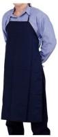 Hansafe Cotton Home Use Apron - Medium(Blue, Single Piece)