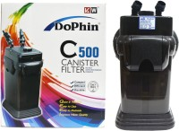 Dophin C-500 Powerful Canister Aquarium Filter(Mechanical Filtration for Salt Water and Fresh Water)